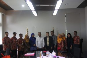 Visitasi Akreditasi Perpustakaan Universitas Widyatama