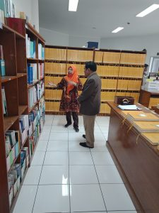 Kunjungan dari Universitas Bale Bandung ke Perpustakaan Universitas Widyatama