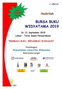BURSA BUKU WIDYATAMA 2019